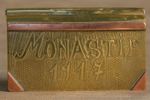 Le nom de Monastir, 3ème plus grand camp retranché, se retrouve sur beaucoup de briquets.