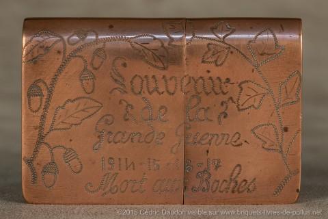 Rares sont les appels à la mort du boche opposé au vaillant soldat français