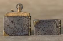 Briquet à capot : rare tout acier