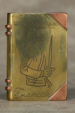 """Rares sont les appels à la mort du boche opposé au vaillant soldat français. Voir la gravure intérieure à la rubrique """"La femme et la sexualité"""""""