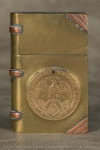 Médailles soudées d'appartenance à une loge